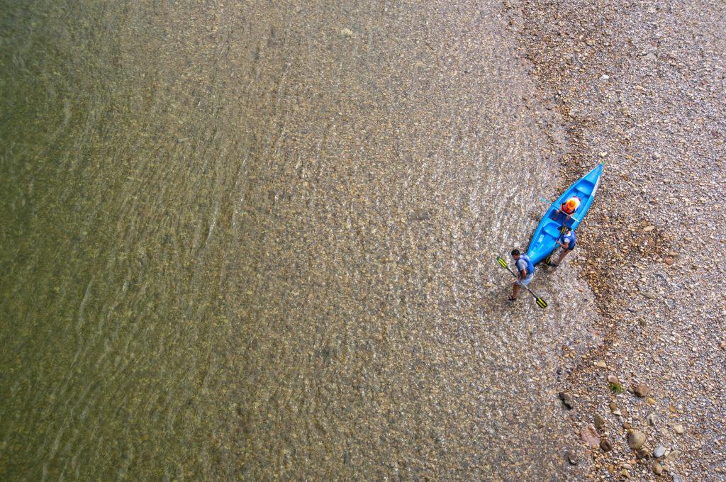 Ciclismo y kayak en el Río Sella-1