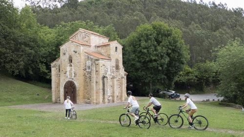 Ciclismo y kayak en el Río Sella-2