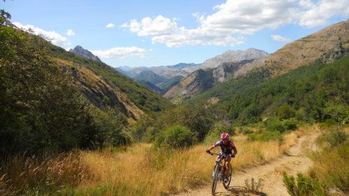 Fin de semana por las Montañas de León en MTB-5