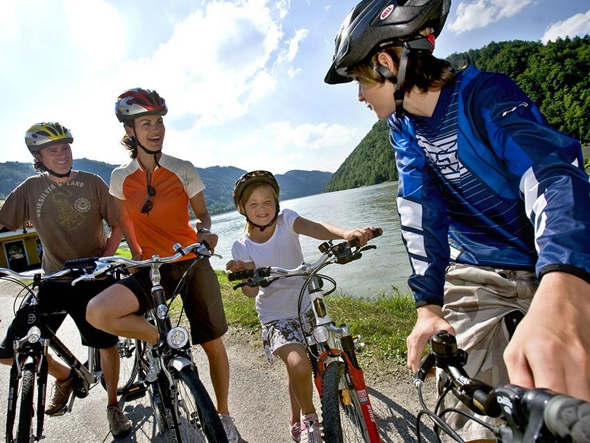Galería de fotos Austria en bici con niños, de Linz a Viena-1