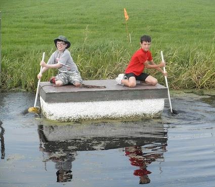 Galería de fotos Holanda con niños en bici y barco-2